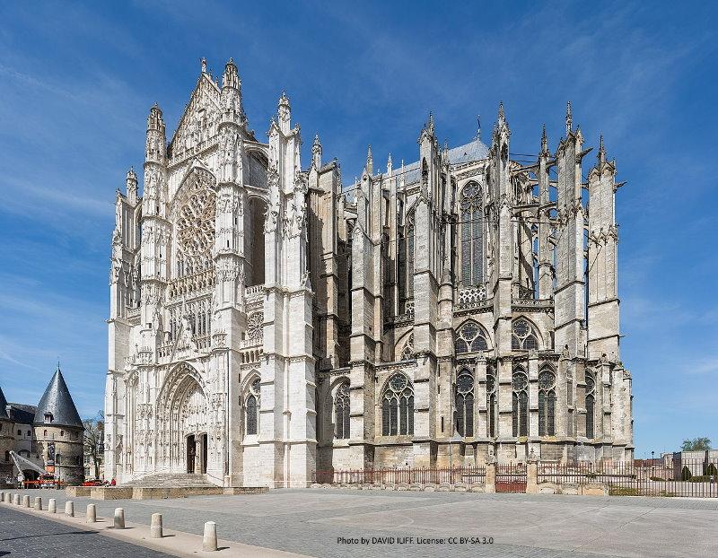 Die Gotik ist eine Strömung der europäischen Architektur und Kunst des Mittelalters.